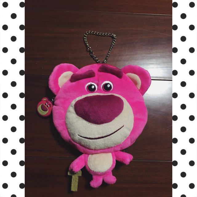 玩具總動員熊抱哥收納袋/零錢包