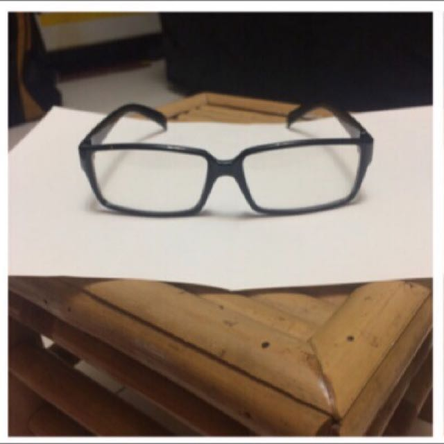 全新粗細鏡框(附眼鏡盒