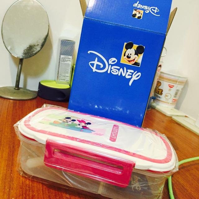 全新✨迪士尼保鮮盒便當盒