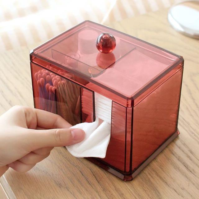 [現貨]多功能水晶儲物盒 #00025