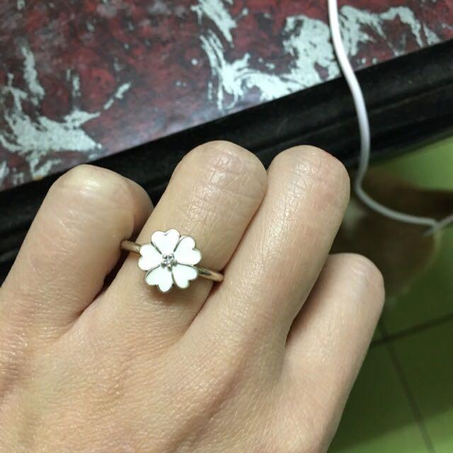 潘朵拉 小花戒指