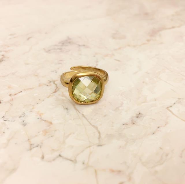全新 復古 老件戒指