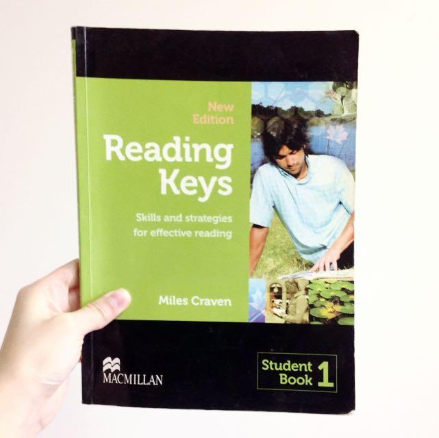 醒吾科技大學 五專部 應英系 Reading Keys Student Book 1 (Macmillan) Miles Craven