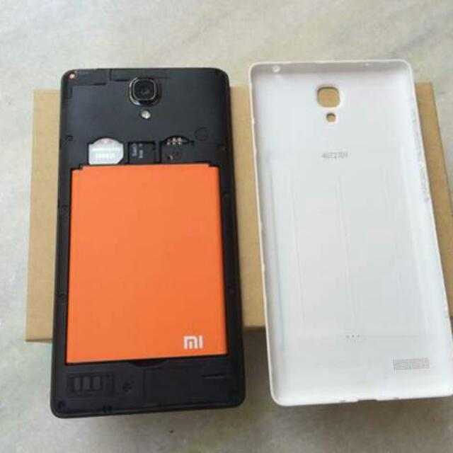 Good Condition Redmi Note 3g With Cracked Screen For Sale.
