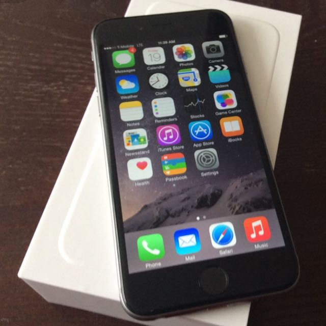 Iphone 6+ Space Gray 16gb
