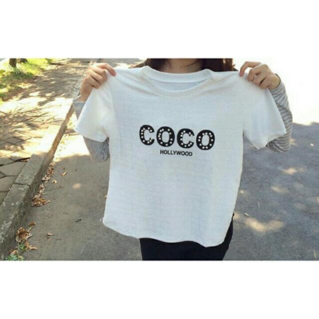 Kaos Coco White