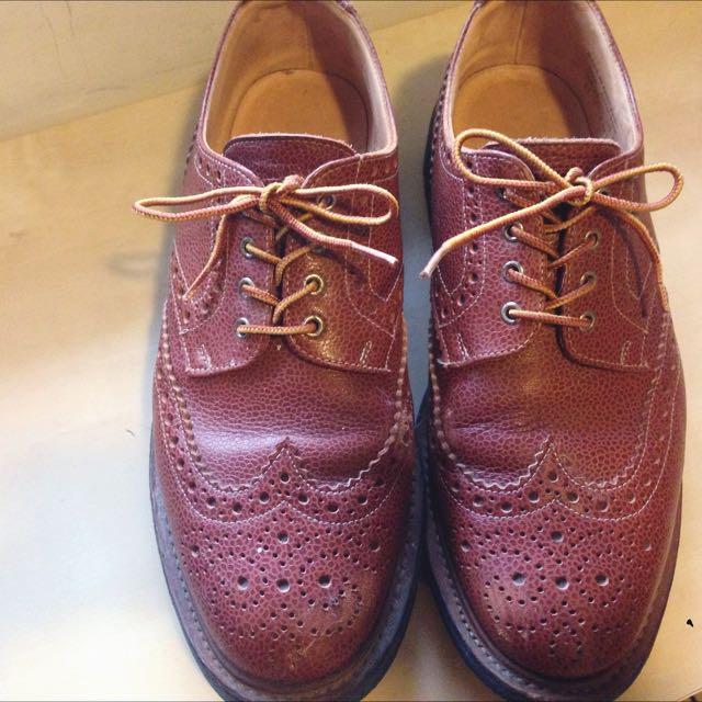 英國製Mark McNairy雕花牛津鞋 pebbled leather UK10/US11 Alden Red Wing Tricker's