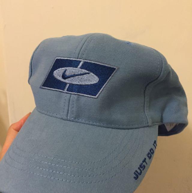 Nike大童帽 淺藍全新