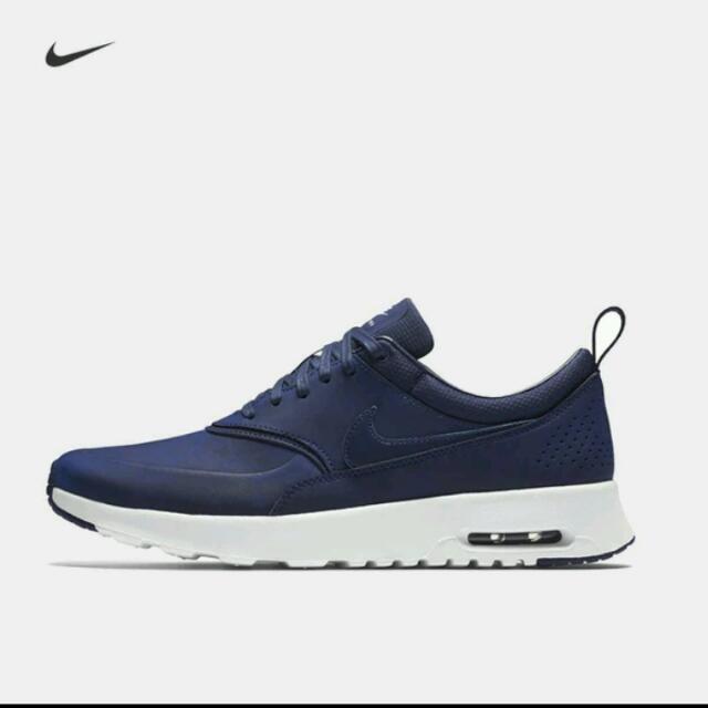 On Navy Carousell Nike Thea Max DarkSports Blue Air Premium ALj54R