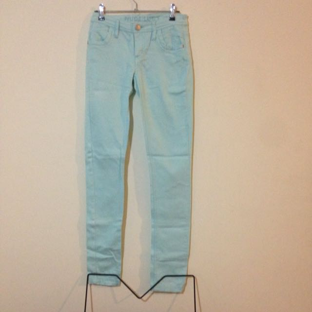Nude Lucy Pastel Blue Jeans Size XS.