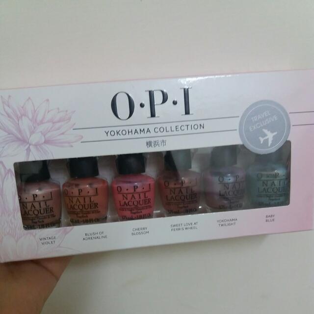 OPI Yokohama Collection 橫濱系列