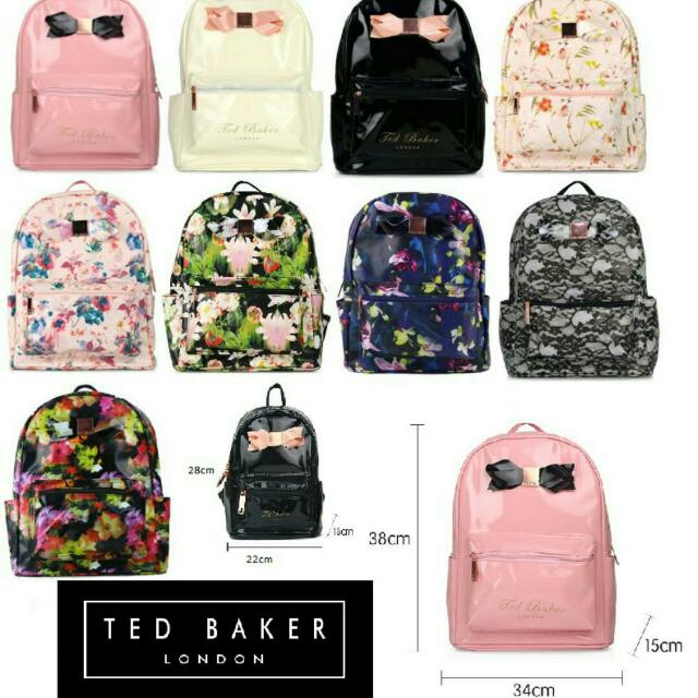 d4ec741659c1 PO) AUTHENTIC TED BAKER BACKPACK