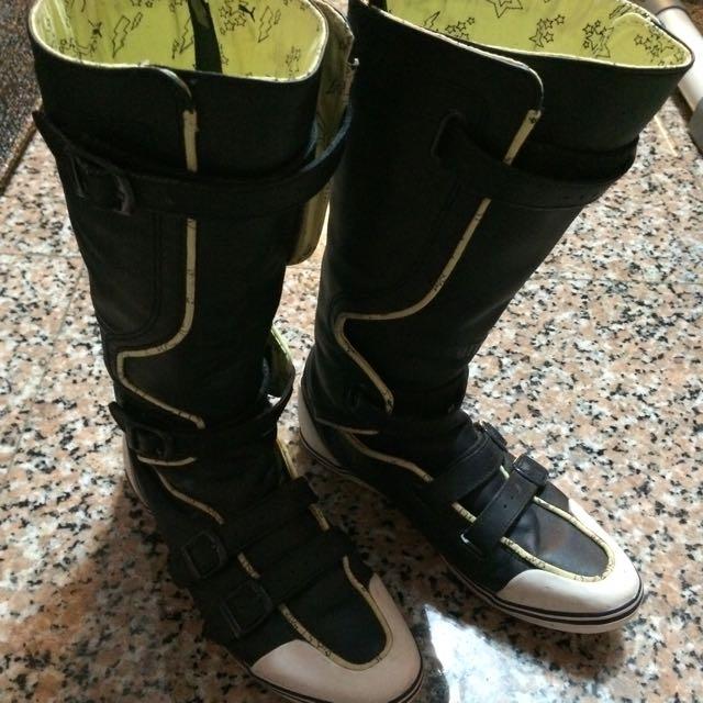 紐約頂級PUMA~運動風高筒靴~超酷~37·5號。