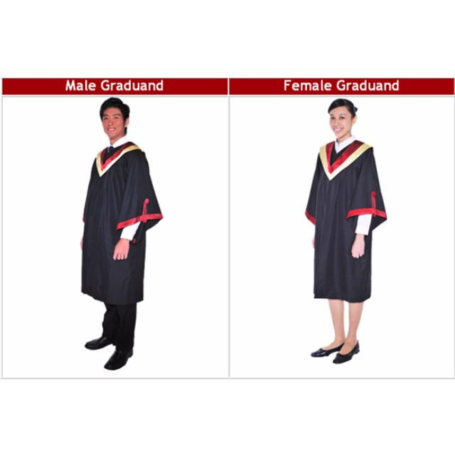 Rent ITE Graduation Gown - Rental Only, Everything Else on Carousell