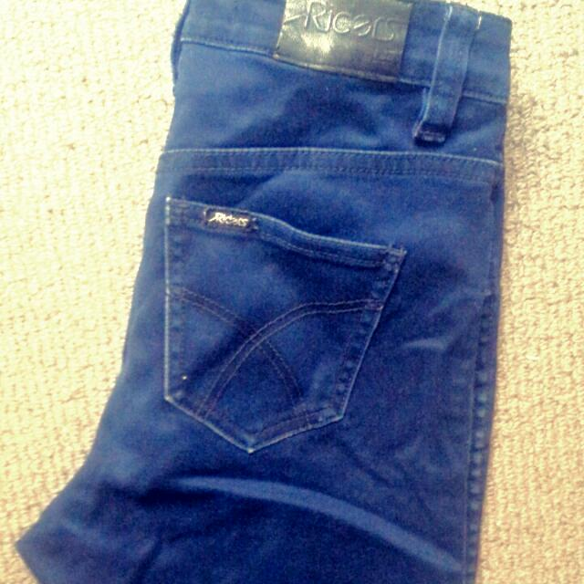 Riders High Waisted Skinny Jeans