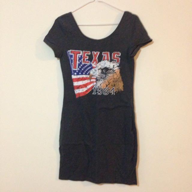 Tee Shirt Dress Size S.
