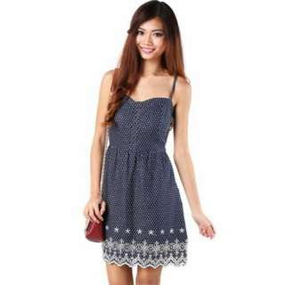 Brand New MGP label Marilyn Dress In Navy