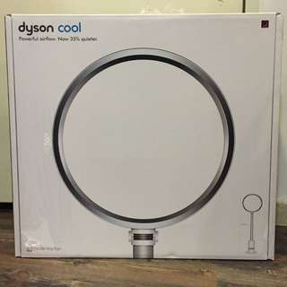 Dyson Bladeless Pedestal Fan AM08 (White/Silver)