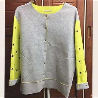 正韓設計款太空棉外套