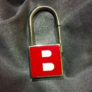 bally 鑰匙圈 紅