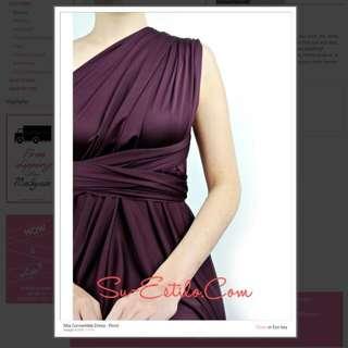 Su Estilo Covertible Dress