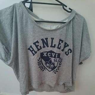 Henleys Crop Grey