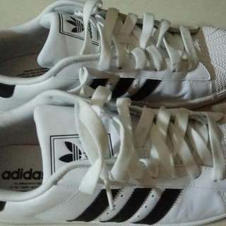 Preloved Authentic Adidas White Shoes (Male)