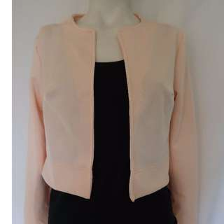 Boho Light Pink jacket Size 8