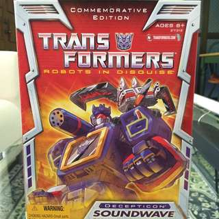 Transformers Hasbro Soundwave