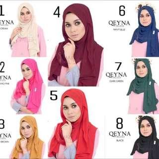 Pinless Qeyna Instant shawl
