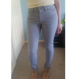 New with tag Jeans light grey size 7 (Dricoper)