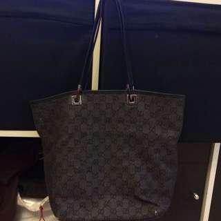 Gucci Denim Bag $250