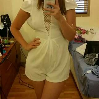 NEW Morning Mist Playsuit Size 6 RRP $59.95
