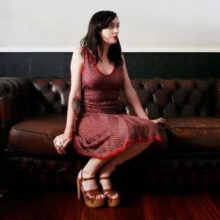 Sabatini Designer Dress - Large