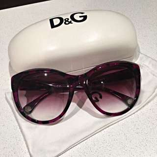 REDUCED D&G Sunglasses With All The Accessories