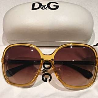 REDUCED D&G Sunglasses In Sunny Yellow Colour