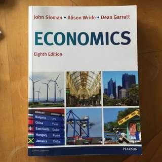 Economics Textbook John Sloman Eighth Edition