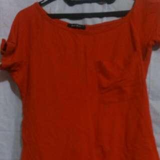 Red Sabrina T Shirt