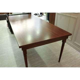 實木大展示桌