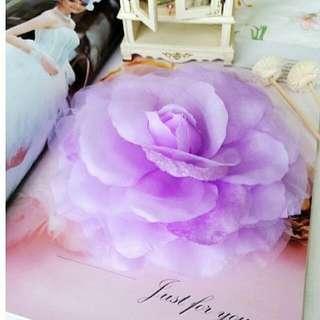 紫色唯美浪漫大花