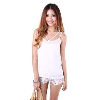 Hilda Top in White