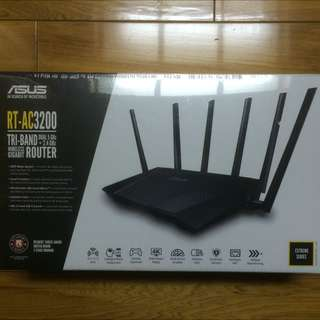 ASUS 華碩 三頻 Wireless-AC3200 Gigabit 分享器