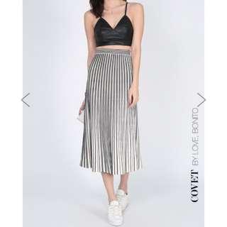 Love Bonito Covet Palivia Pleated Knit Skirt