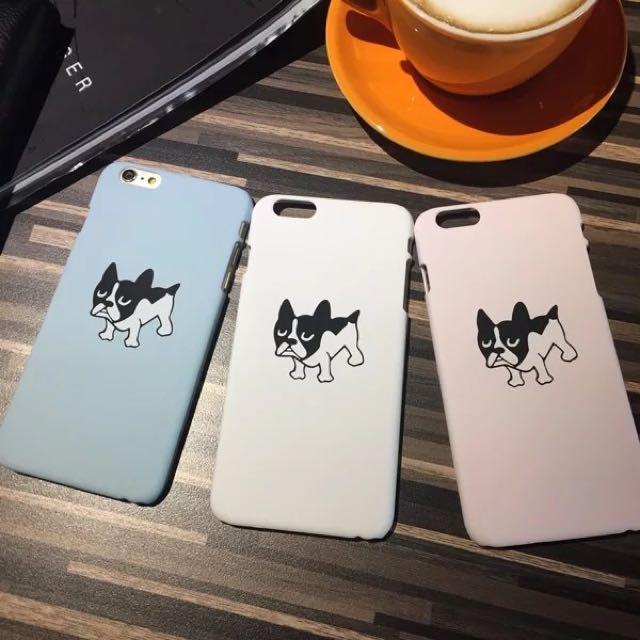💗可愛鬥牛犬手機殼-A90