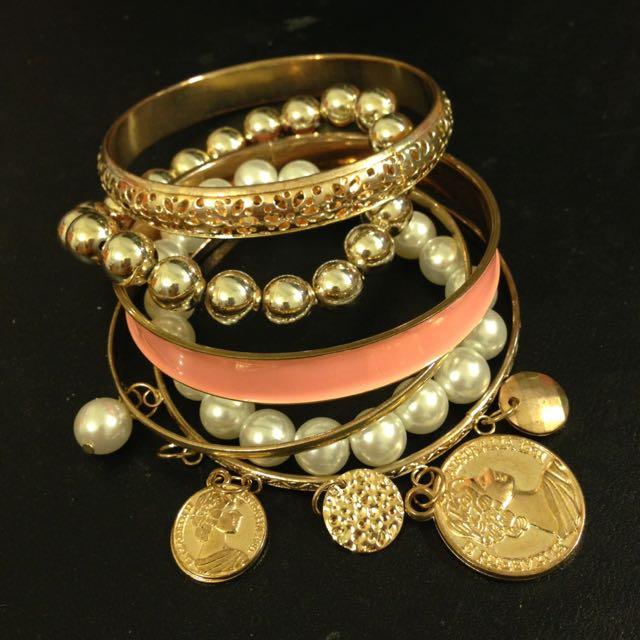 古銅色多層次手環❤️️