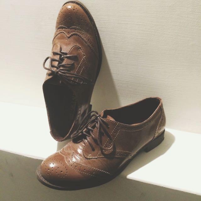 復古雕花牛津鞋💕英倫學院風(含運