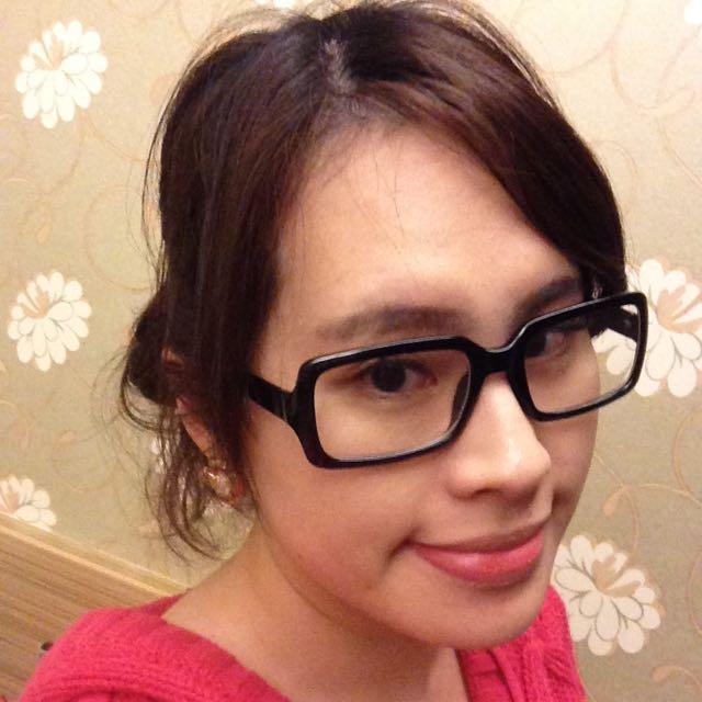 平光方框造型眼鏡 👓