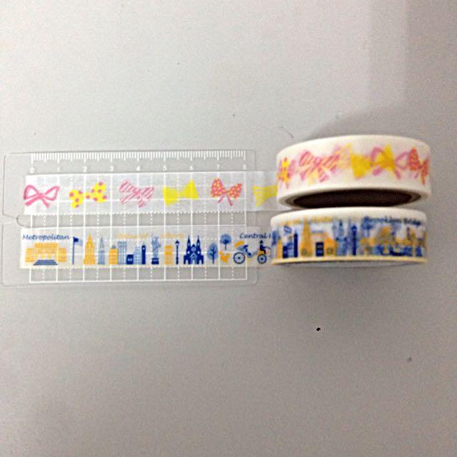 [分裝] 紙膠帶 蝴蝶結/紐約