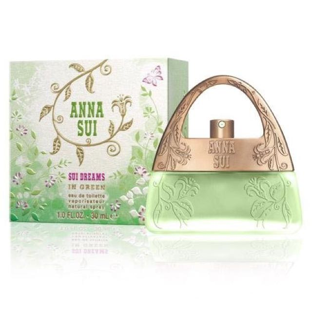 Anna Sui 甜蜜夢境淡香水30ML茉綠限量版全新公司貨