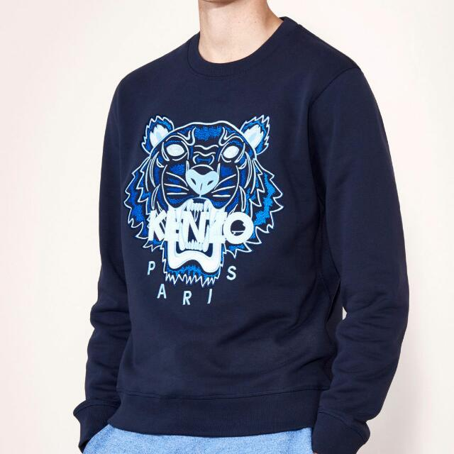 bda19a69acf5 Authentic New Kenzo Tiger Sweatshirt (Midnight Blue) Bought From ...